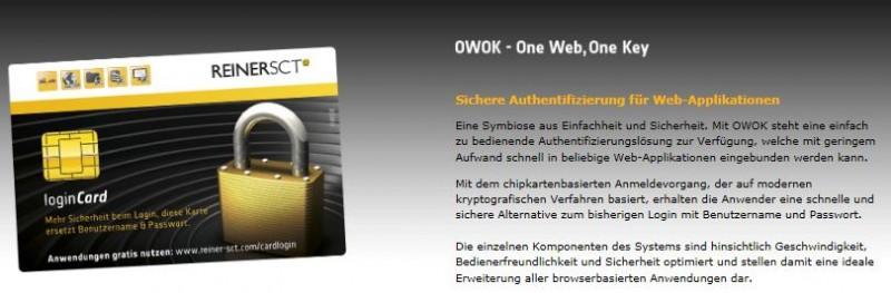 Die bedingt nützliche OWOK-Card (Copyright: www.reiner-sct.com)