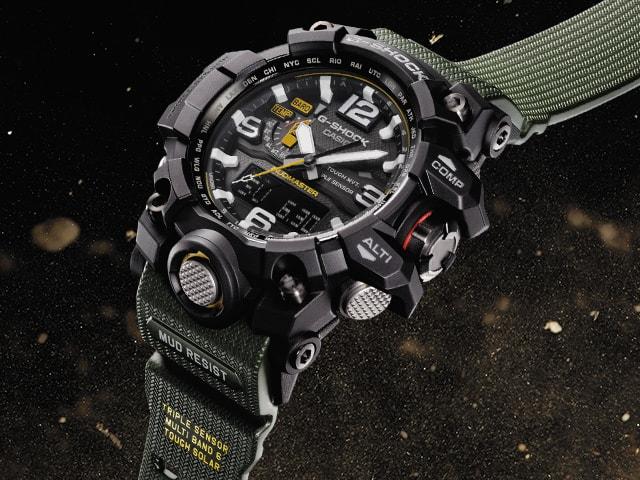 """Mudmaster - Casio G-Shock """"Mudmaster"""" GWG-1000-1A3ER"""
